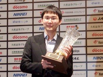 優勝した朴廷桓九段